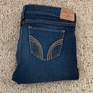 Hollister jeans! Medium to dark denim, 9 long jean